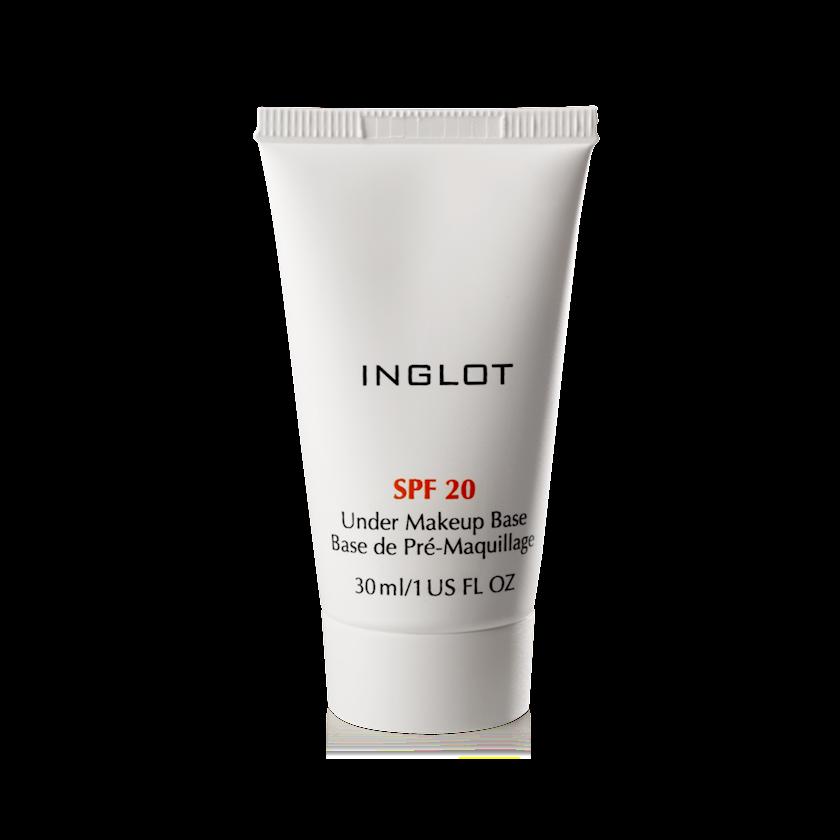 Makiyaj altı baza Inglot clear Under Makeup Base Spf 20