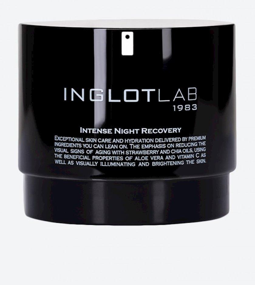 Gecə üz kremi Inglot Lab Intense Night Recovery Face Cream