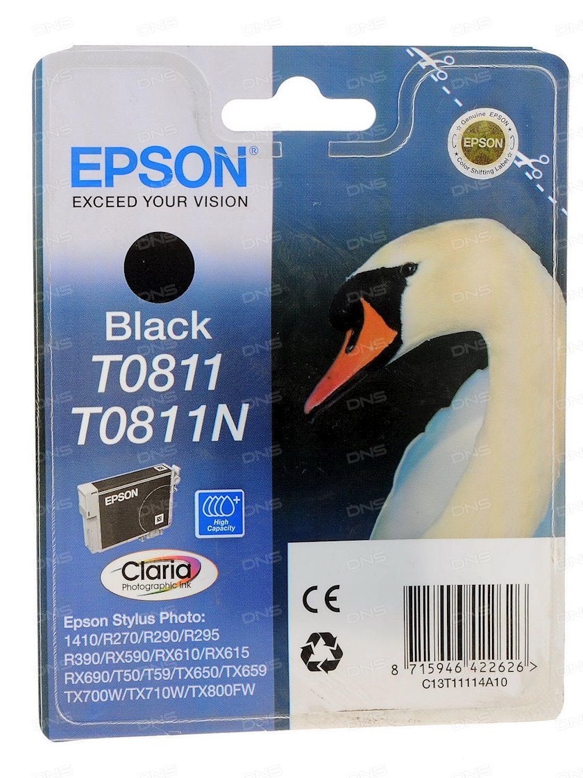 Kartric Epson T0811 Black