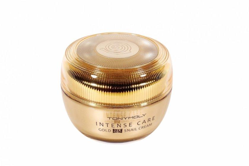 Üz üçün krem Tony Moly Intense Care гold 24K Snail Cream 45 ml