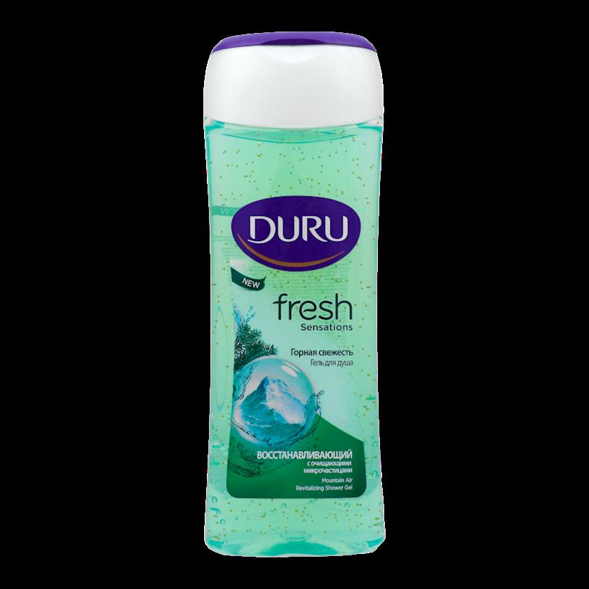 Duş üçün gel Duru Fresh Sensations Dağ sərinliyi 250 ml