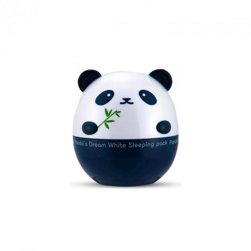 Üz üçün ağardıcı gecə krem-maska Tony Moly Panda's Dream White Sleeping Pack 50 ml