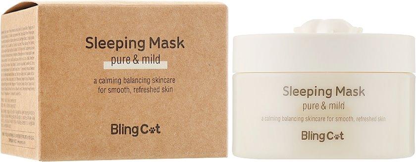 Üz üçün gecə maskası Tony Moly Bling Cat Sleeping Mask 80 ml