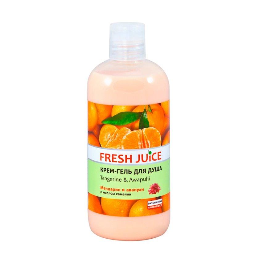 Duş üçün gel-krem Fresh Juice Tangerine & Awapuhi 500 ml