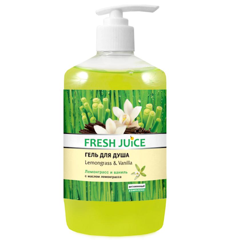Duş üçün gel Fresh Juice Lemongrass & Vanilla 500 ml