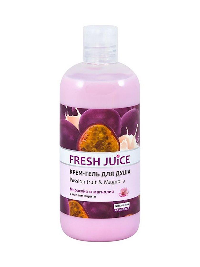 Duş üçün gel-krem Fresh Juice Passion fruit & Magnolia 500 ml