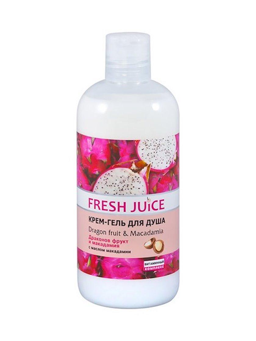 Duş üçün gel-krem Fresh Juice Dragon fruit & Macadamia 500 ml