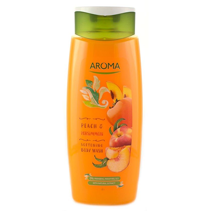 Duş üçün gel Aroma  Peach & Persimmon 400 ml