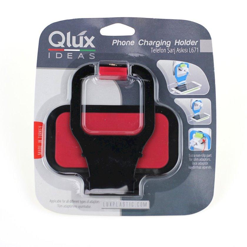 Alətlər üçün tutacaq yuva üçün Qlux L671 Qırmızı