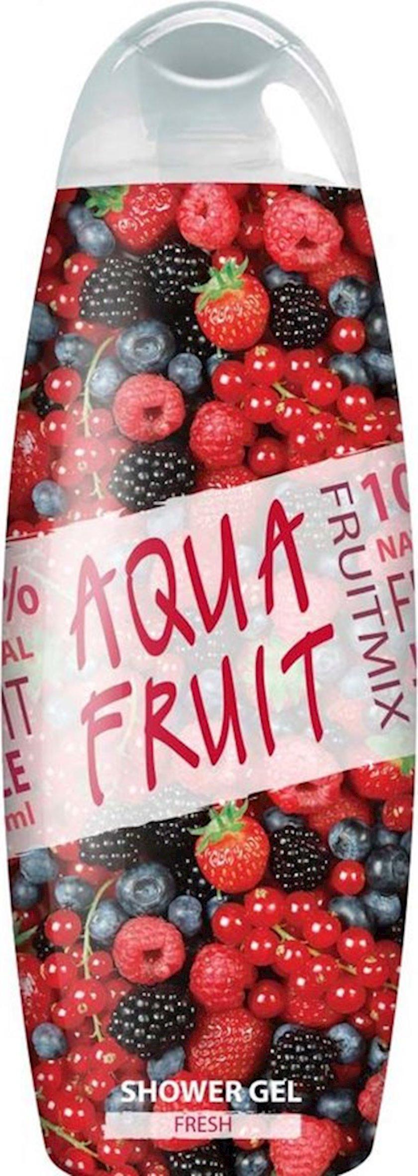 Duş üçün gel AquaFruit Fresh, 420 ml