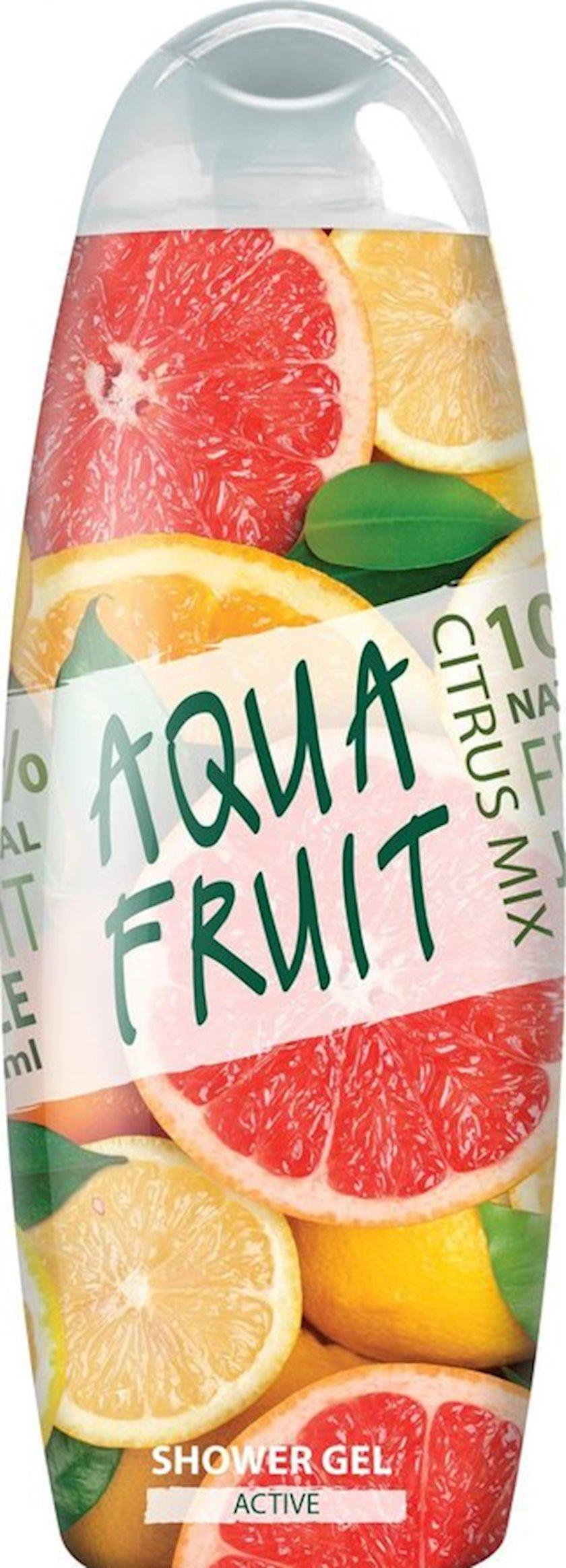 Duş üçün gel Aquafruit Active 420 ml