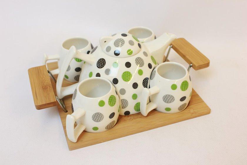 Keramik 5Li Çay Dəsti Jd7059H