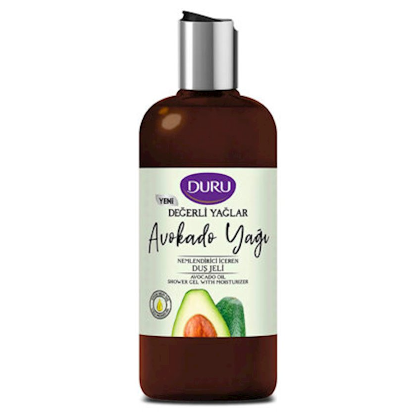 Duş üçün nəmləndirici gel Duru Avokado yağı ilə  Precious Oils 500 ml