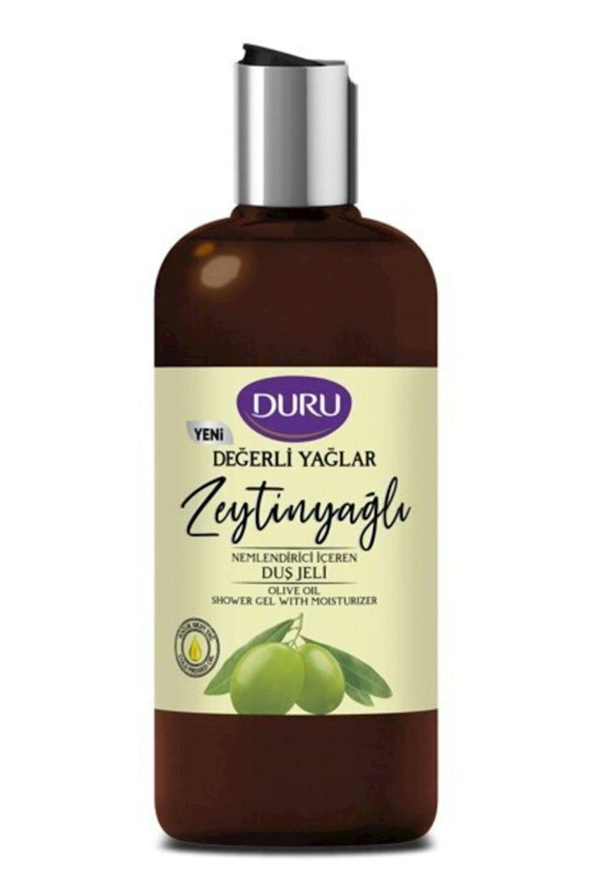 Duş üçün nəmləndirici gel Duru zeytun yağı ilə Precious Oils 500 ml