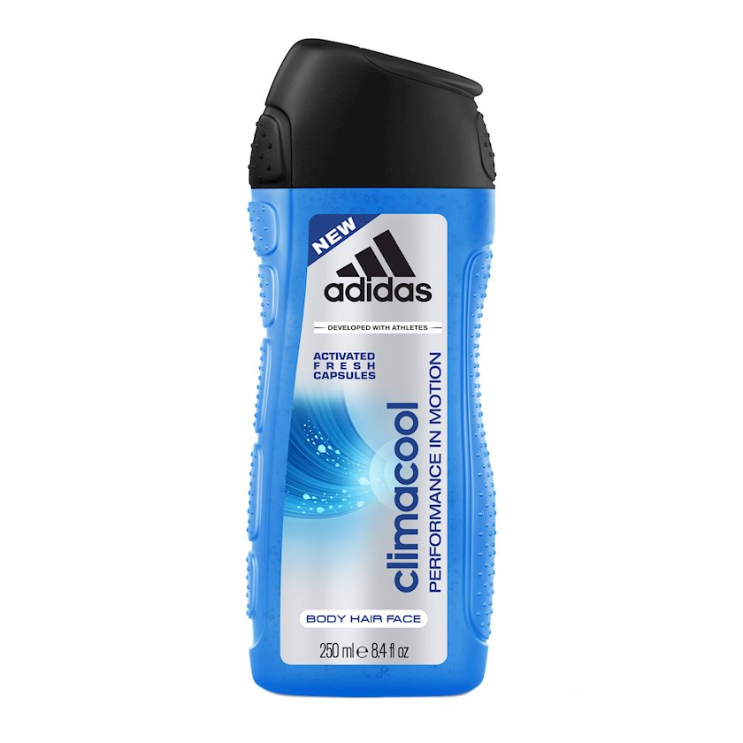 Duş üçün gel kişilər üçün Adidas Climacool 250ml