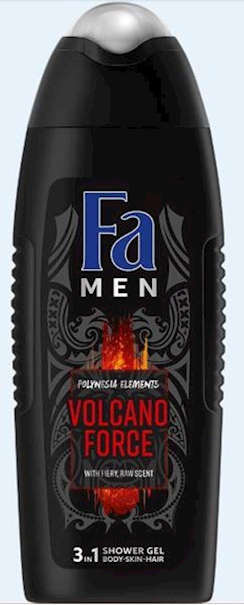 Duş üçün gel Fa Men Polineziya enerjisi vulkan gücü 250 ml