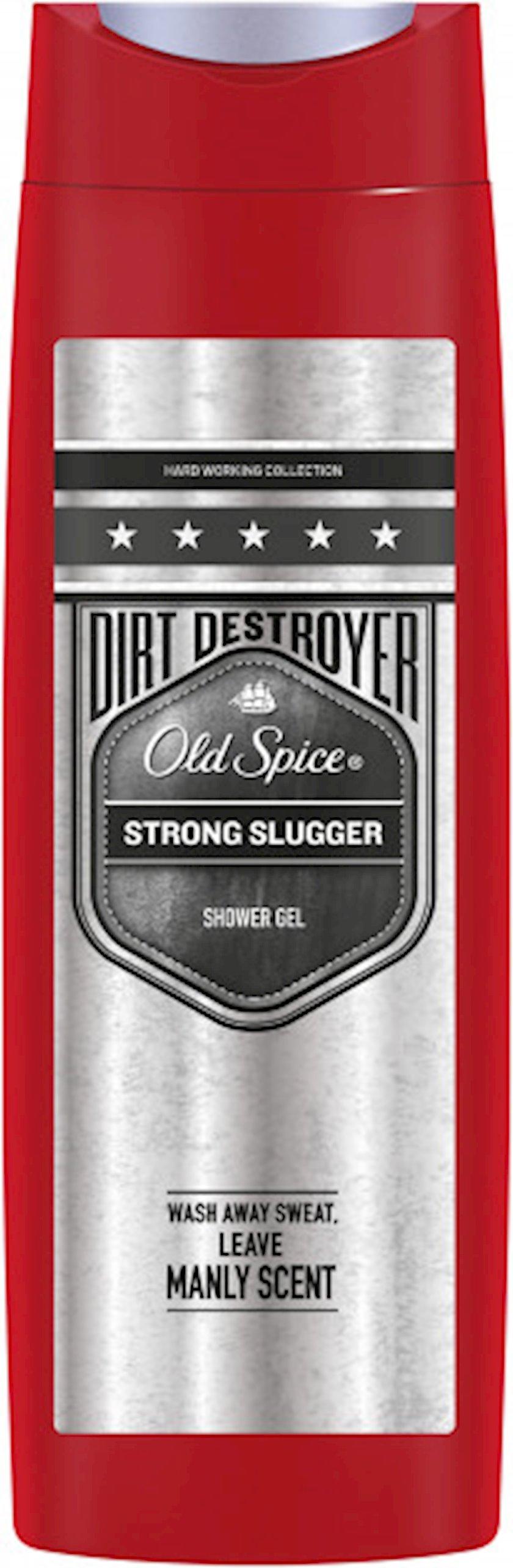 Duş üçün gel Old Spice Dirt Destroyer Strong Slugger 400 ml