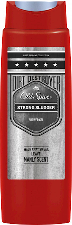 Duş üçün gel Old Spice Strong Slugger 250 ml