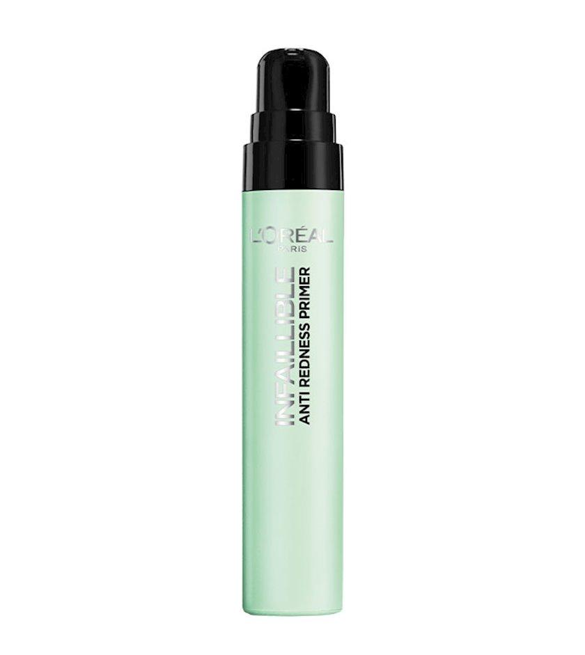 Praymer üz üçün L'Oréal Paris Infaillible Primer 02 Qızartıya qarşı 20 ml