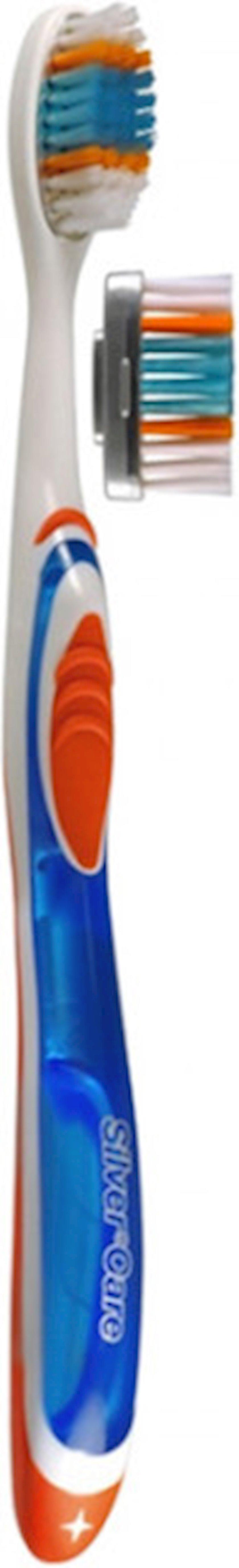 Diş fırçası Silver Care H2O Medium dəyişdirilə bilən başlıqla