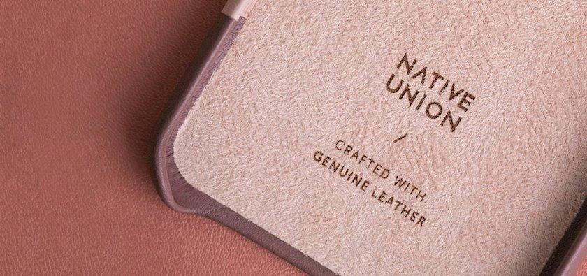 Çexol Native Union Clic Marquetry Apple iPhone 11 Pro Rose