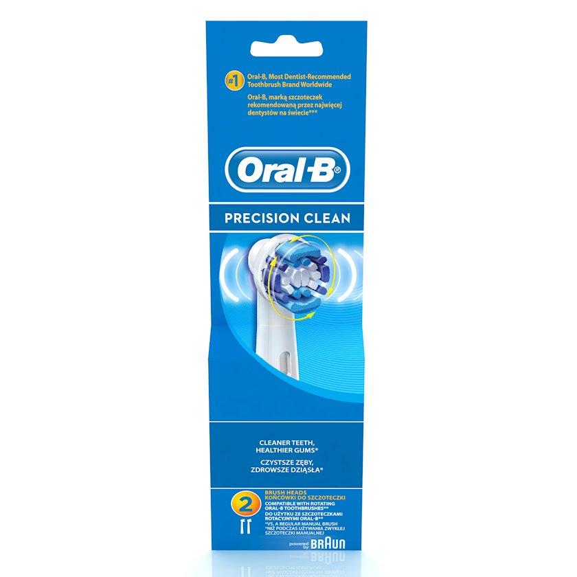 Elektrik diş fırçası üçün taxmalar Oral-B Precision Clean, 2 əd.