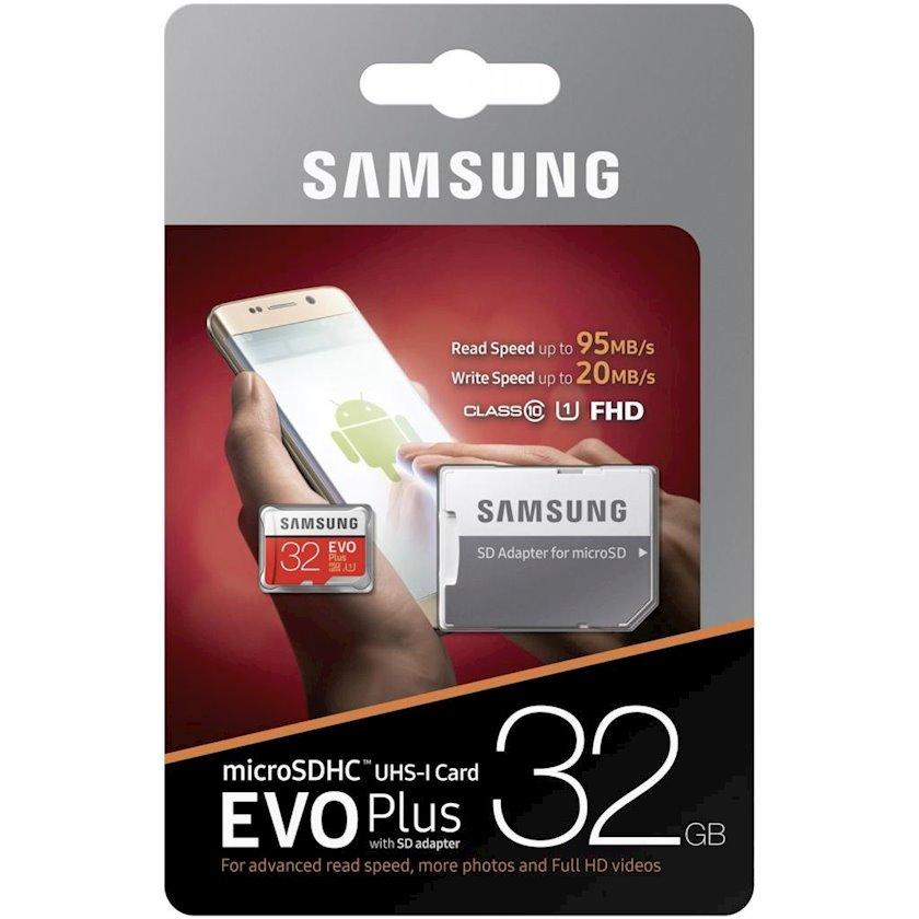 Yaddaş Kartı Samsung EVO Plus V2, 32 GB
