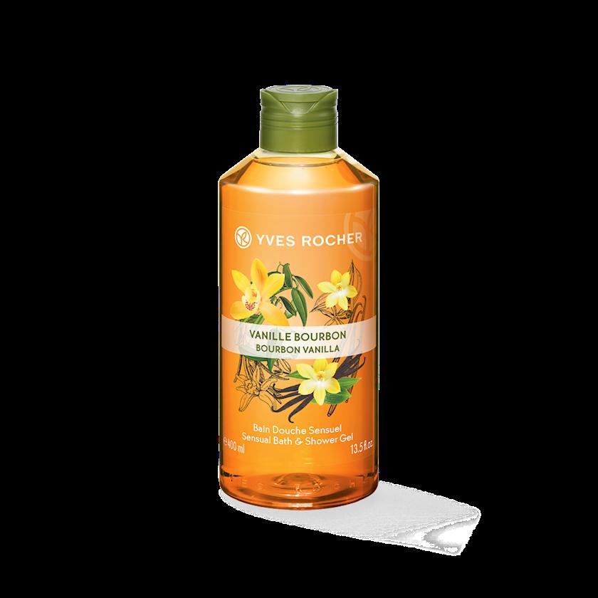 Duş və hamam üçün gel Yves Rocher Burbon vanili 400 ml