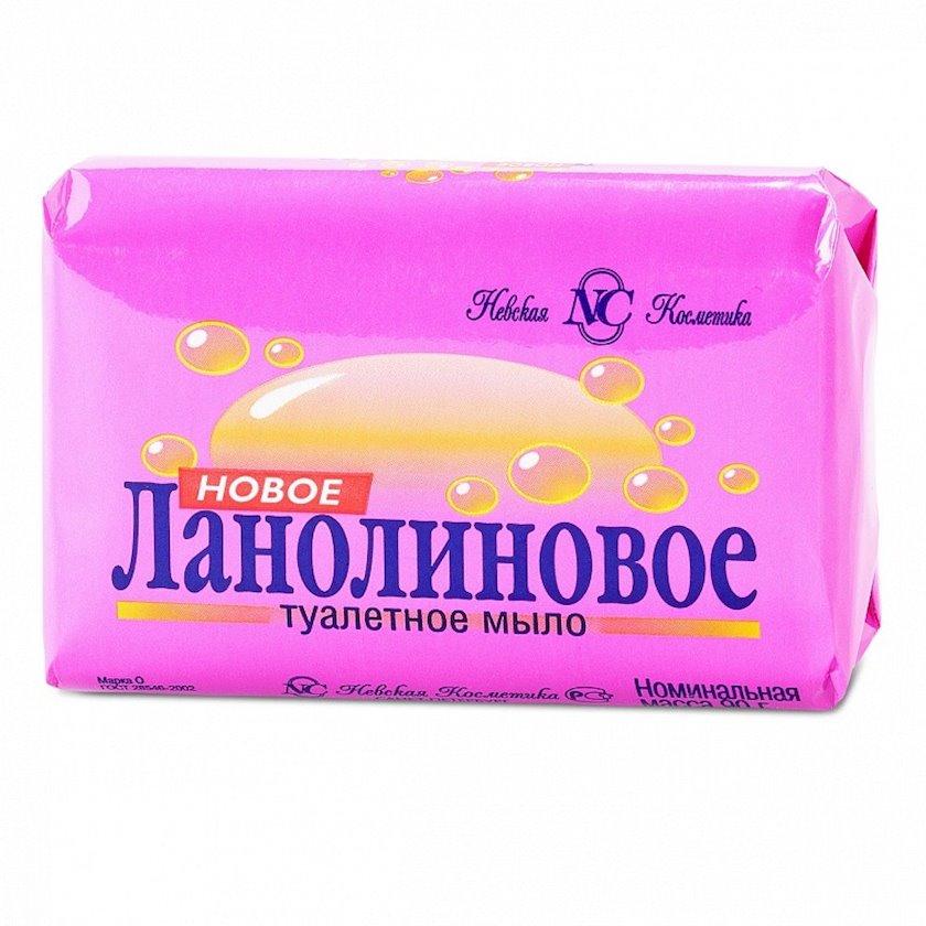 Sabun Невская косметика Yeni Lanolin ilə 90 q