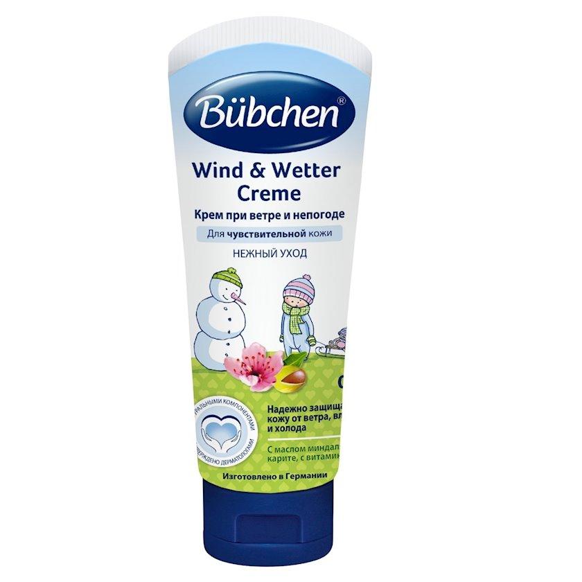 Külək və pis hava üçün Krem Bubchen 75 ml
