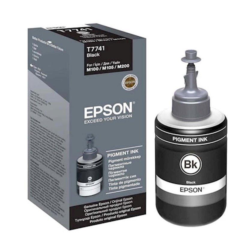 Mürəkkəb konteyneri Epson Black Ink bottle for M100. M200. M105