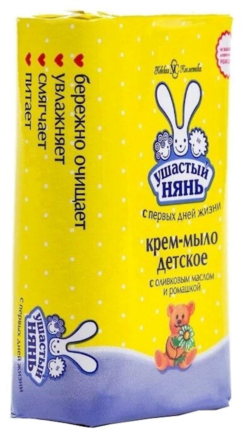 Krem-sabun Ушастый нянь zeytun yağı və çobanyastığı ilə 90 q