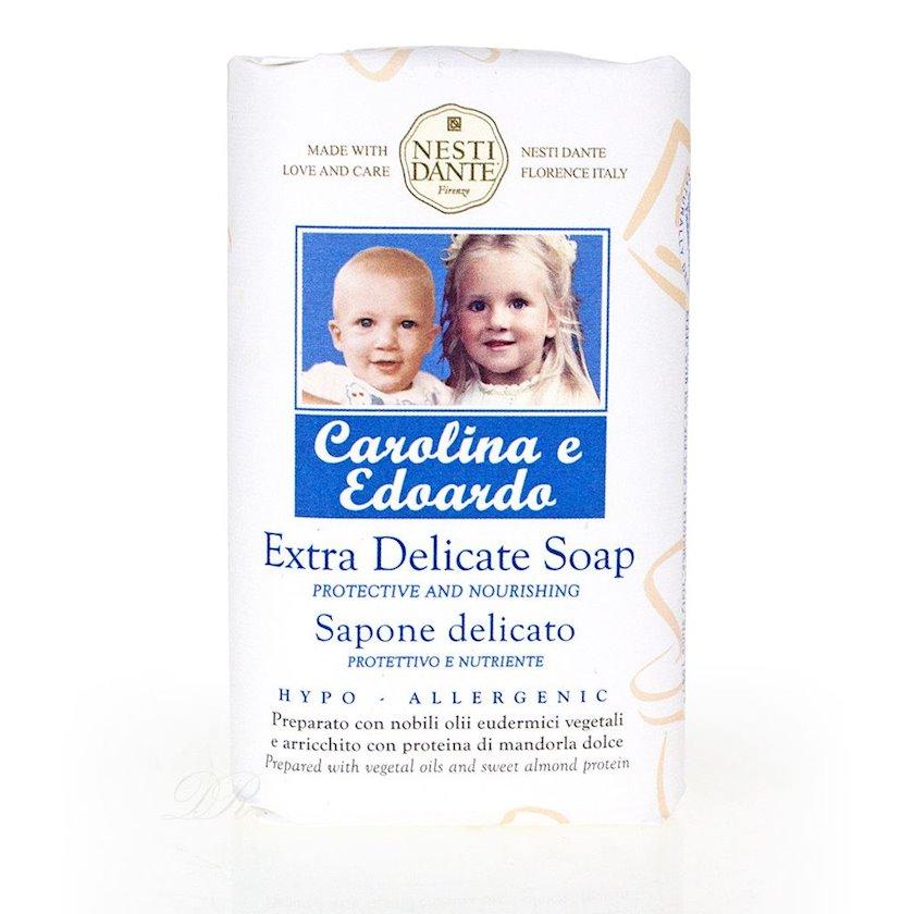 Uşaq sabunu Nesti Dante Carolina e Edoardo Körpələr üçün 250 q