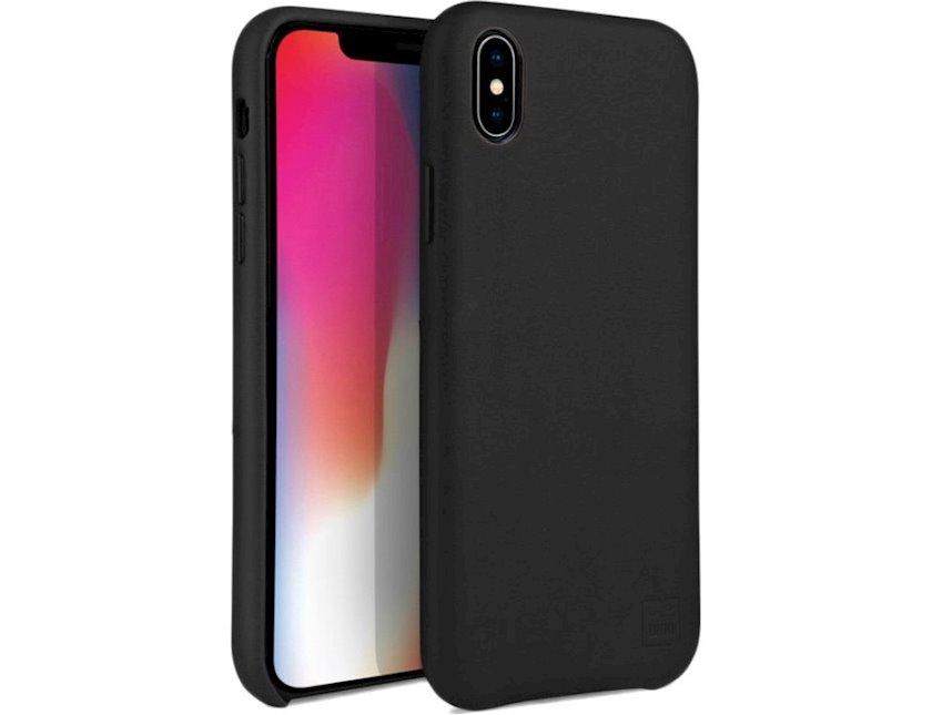 Çexol Uniq Hybrid Duffle Vale Dallas Apple iPhone XS/X Black üçün