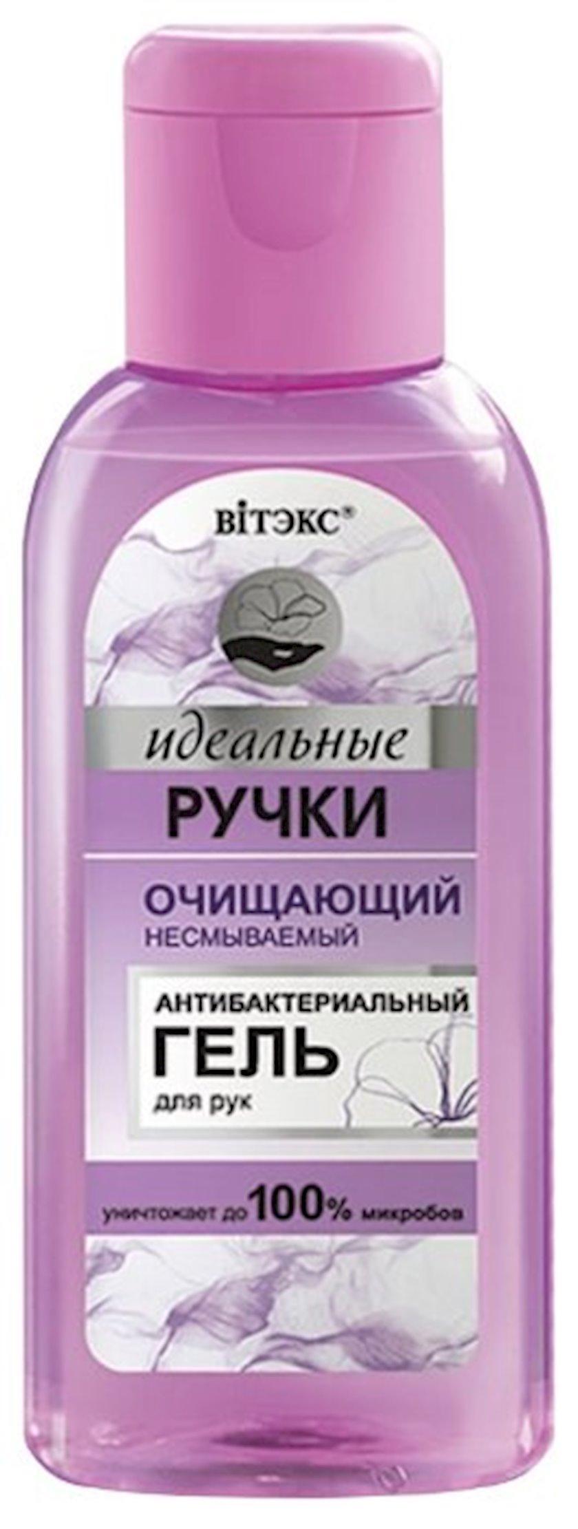Antibakterial gel əllər üçün Витэкс Идеальные ручки təmizləyici