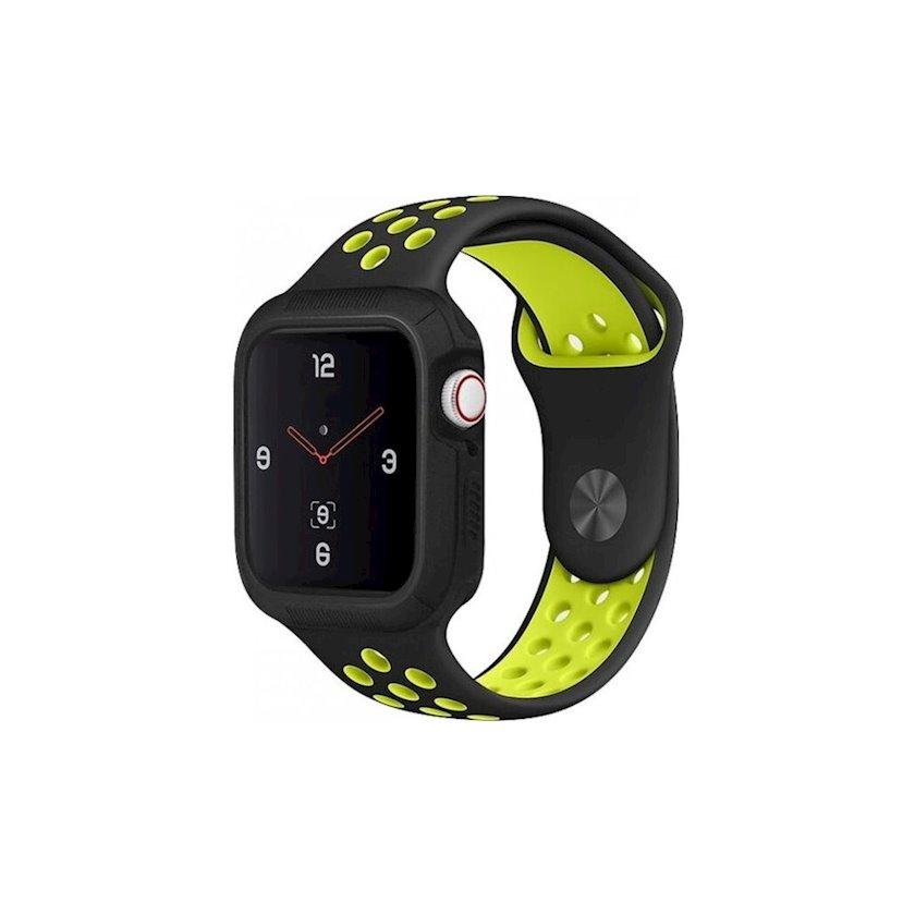Çexol Uniq Proteger Apple Watch Series 4 üçün 44 mm Black