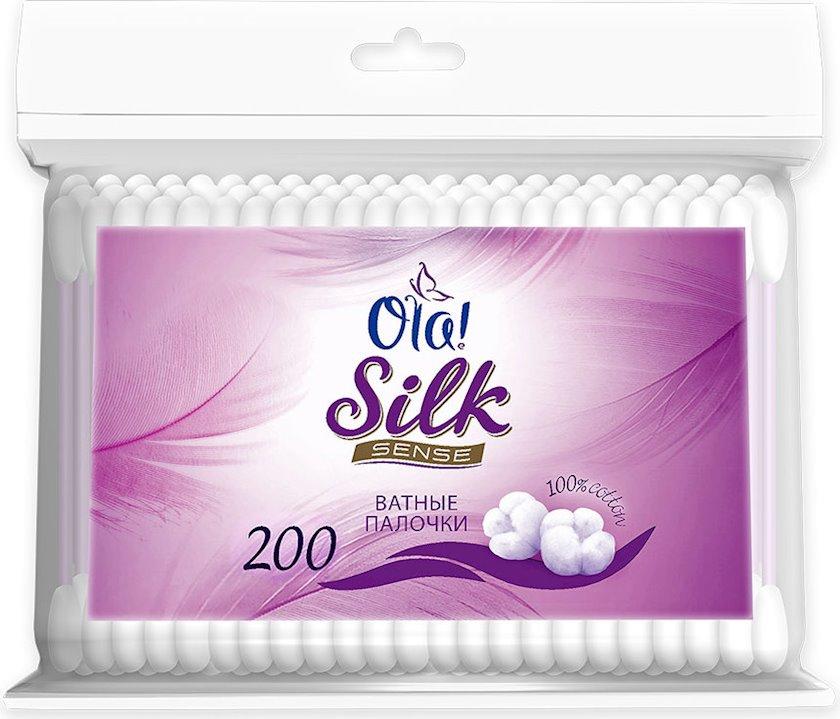 Pambıq çöpləri Ola! Silk sense 200 ədəd