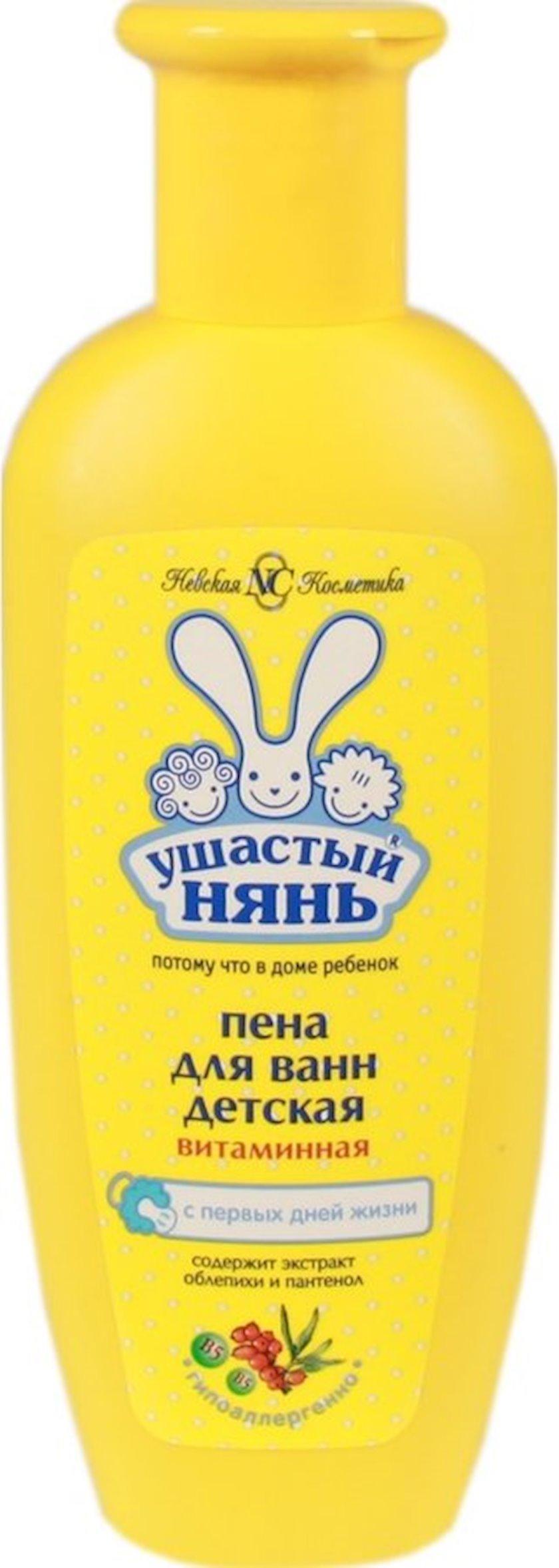 Vanna üçün köpük Ушастый нянь Vitamin və çaytikanı ilə 250 ml