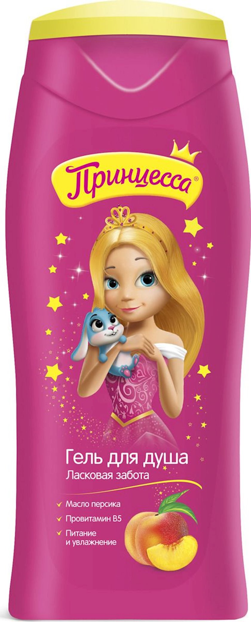 Uşaqlar üçün duş geli Принцесса Mehriban qayğı 250 ml