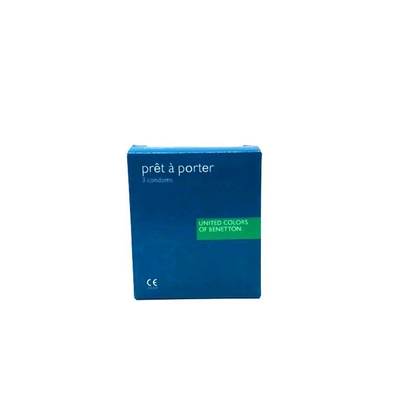 Prezervativ United Colors of Benetton Pret A Porte 3 ədəd