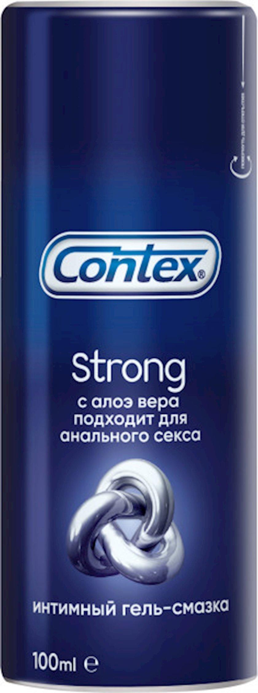 İntim gel-yumşaldıcı Contex Strong Aloe vera ilə 100 ml