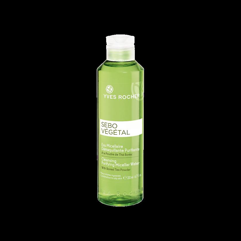 Təmizləyici misellyar su Yves Rocher yağlı dəri üçün  - 200 ml