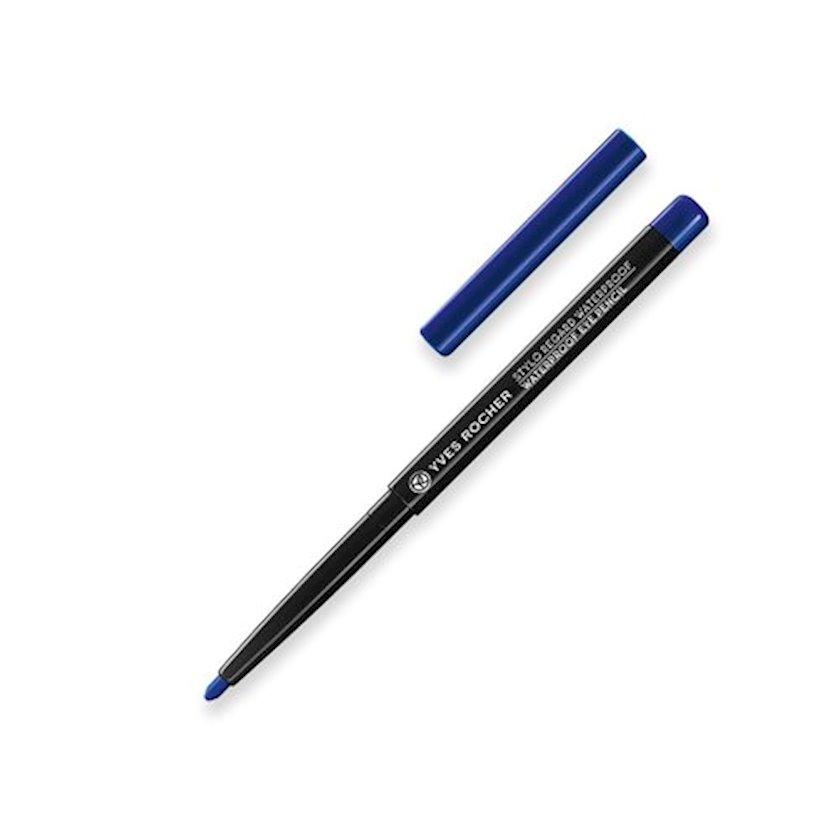 Göz qələmi Yves Rocher Stylo Regard Waterproof Eye Pencil Blue