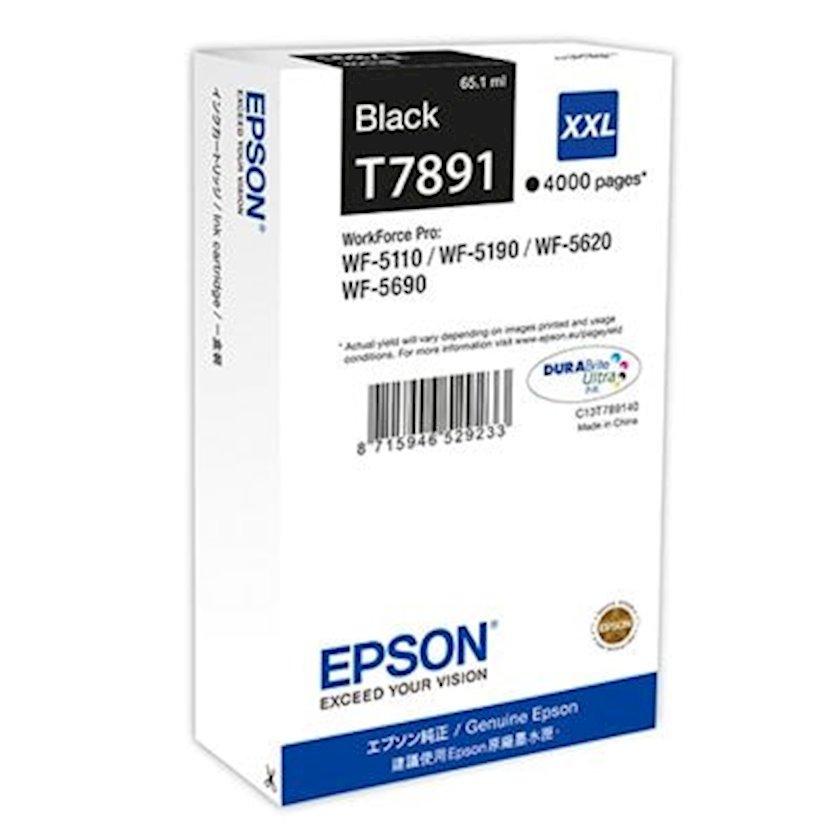 Kartric Epson T7891 Ink Cartridge XXL Black