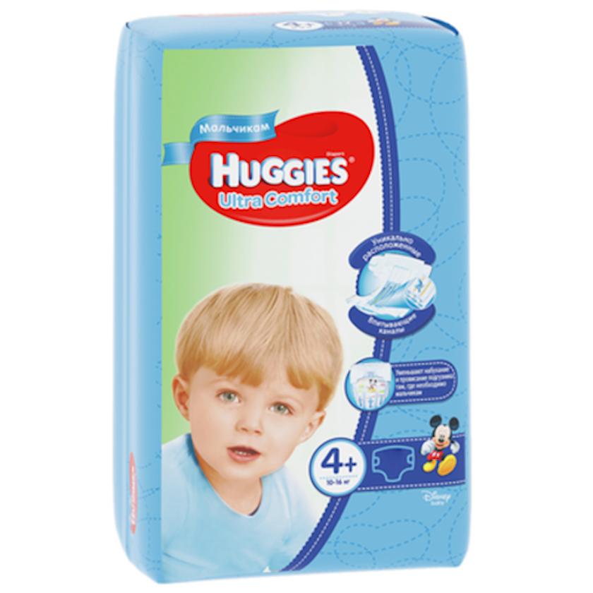 Uşaq bezi Huggies Ultra Comfort Oğlanlar üçün 4+, 10-16 kq, 17 əd.