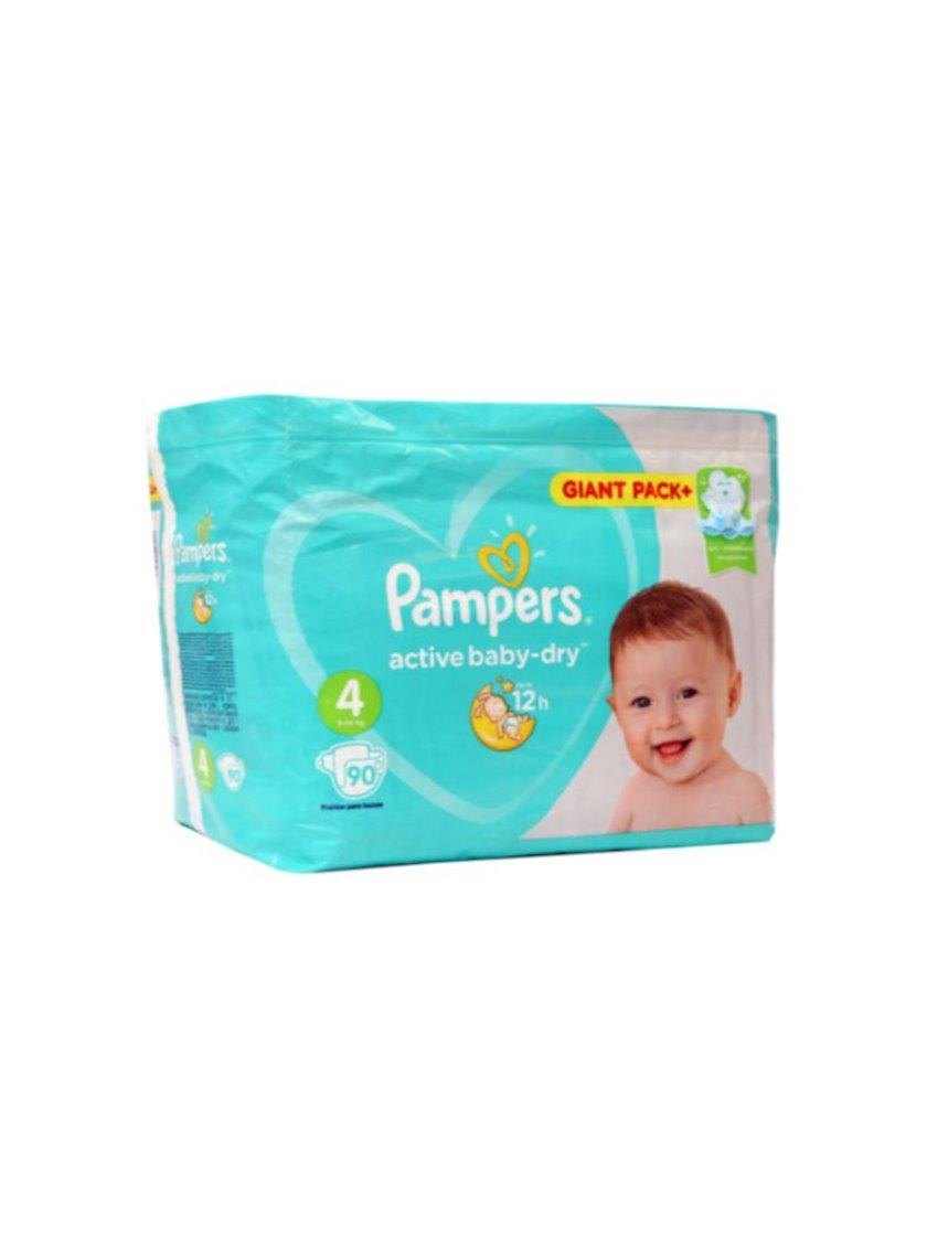 Uşaq bezi Pampers Active Baby-Dry 4, 9-14 kq, 62 əd.