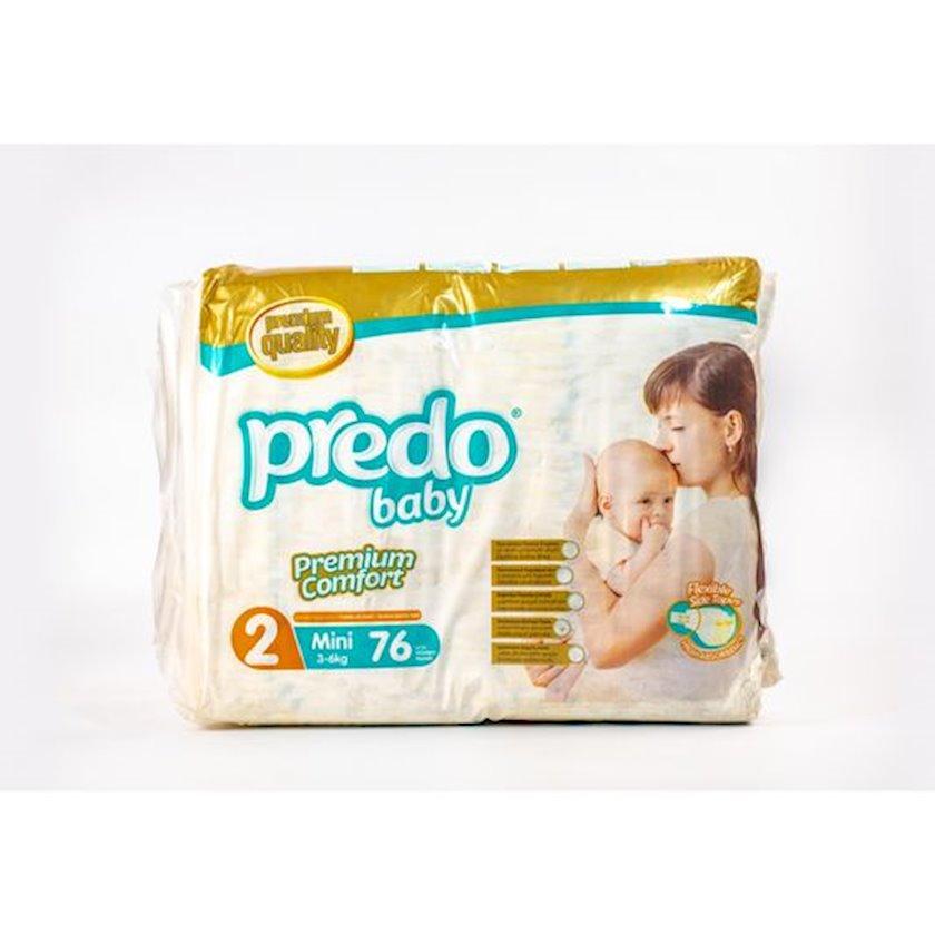 Uşaq bezi Predo Baby Mini 2, 3-6 kq, 76 əd.