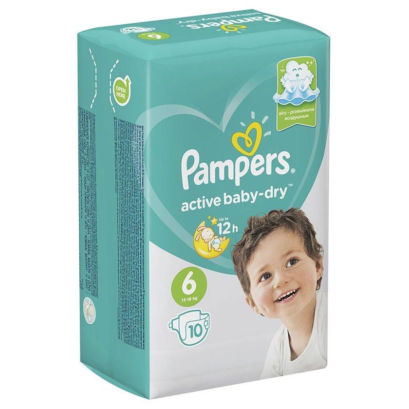 Uşaq bezi Pampers New Baby-Dry 6, 13-18 kq, 10 əd.