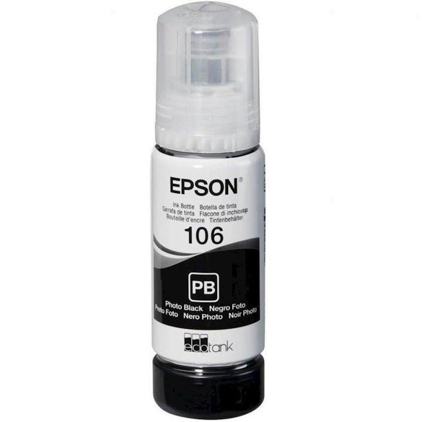 Mürəkkəb konteyneri Epson 106 EcoTank Photo Black Ink Bottle