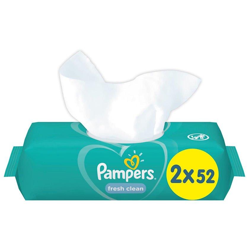 Uşaq üçün  nəm salfetlər Pampers Fresh Clean